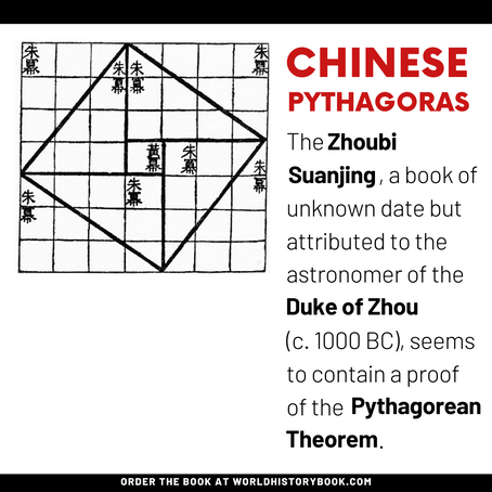 THE PYTHAGOREAN THEOREM IN CHINA