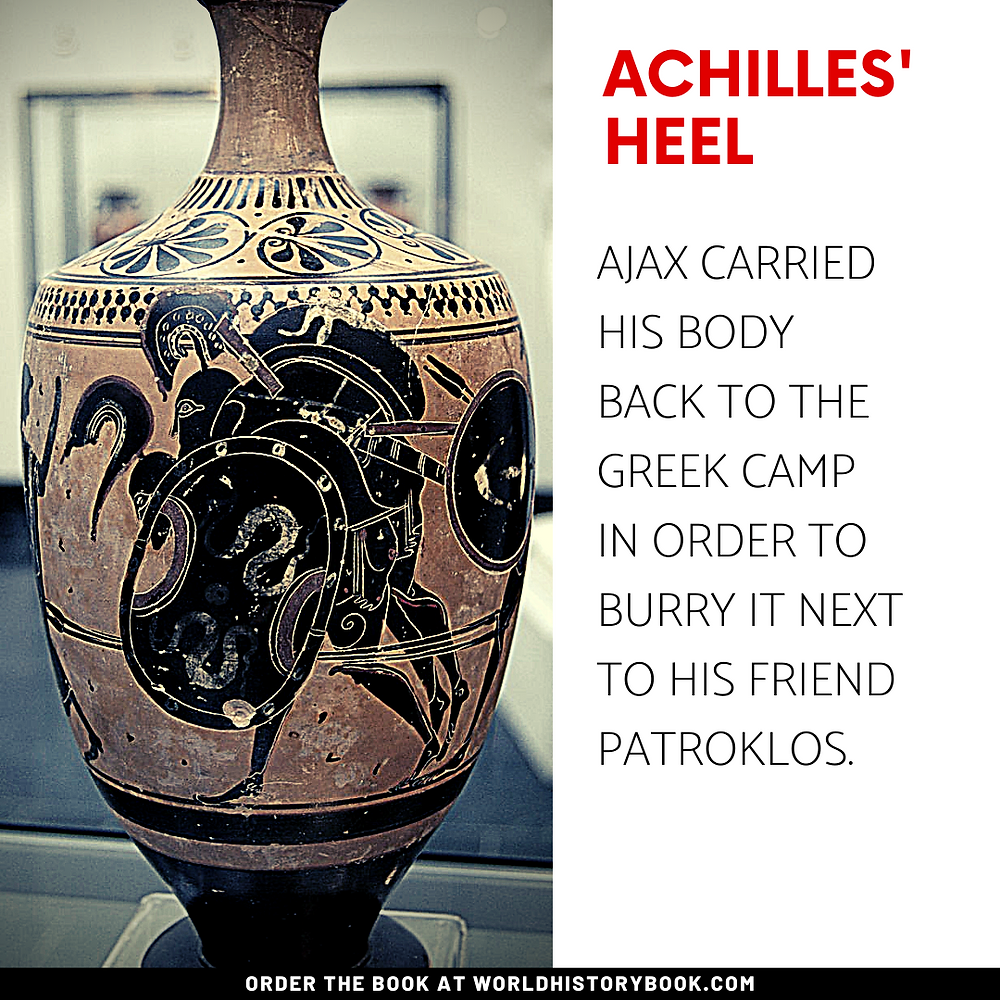 the great world history book stephan dinkgreve ancient greece homer iliad odyssey trojan war achilles' heel paris ajax