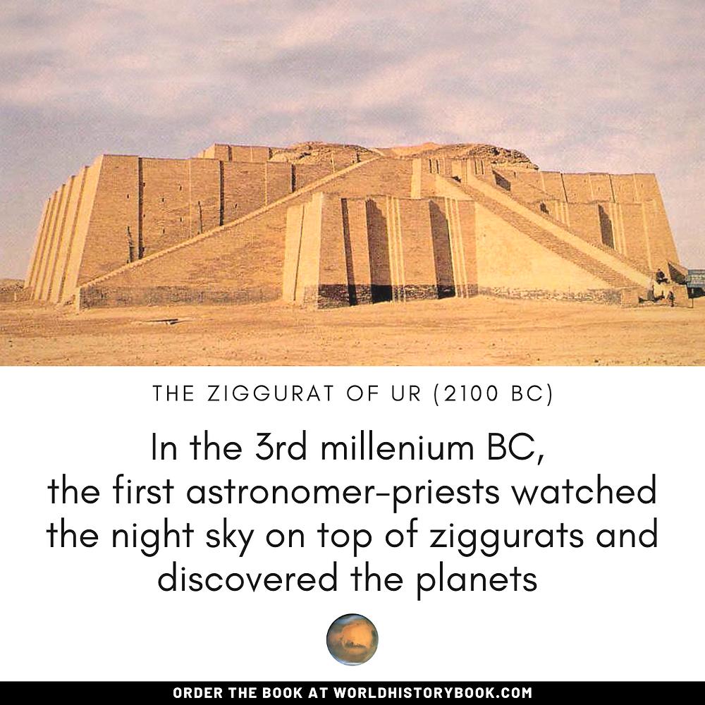 the great world history book stephan dinkgreve mesopotamia sumeria babylon royal astronomy planets mars ziggurat