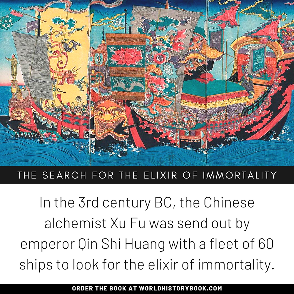 the great world history book stephan dinkgreve chinese alchemy qin shi huang di elixir of immortality mercury xu fu