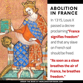 abolition of slavery in medieval france