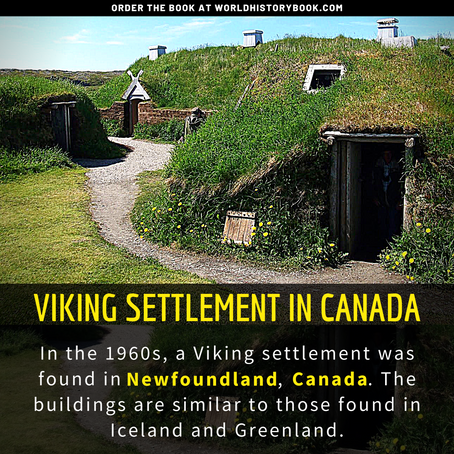 VIKINGS SETTLEMENT IN CANADA