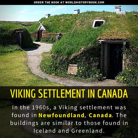 VIKINGS SETTLEMENT IN CANADA