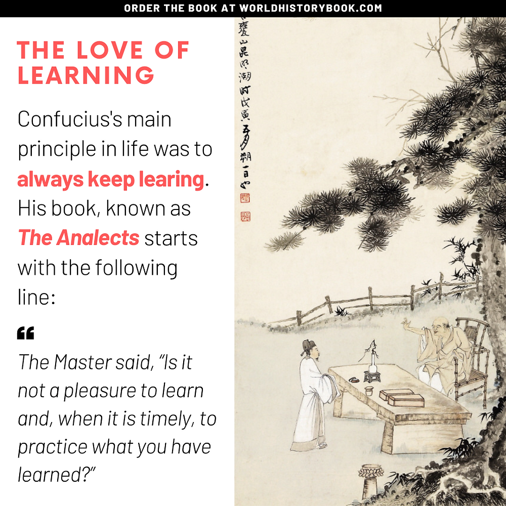 Confucius love of learning practice analects
