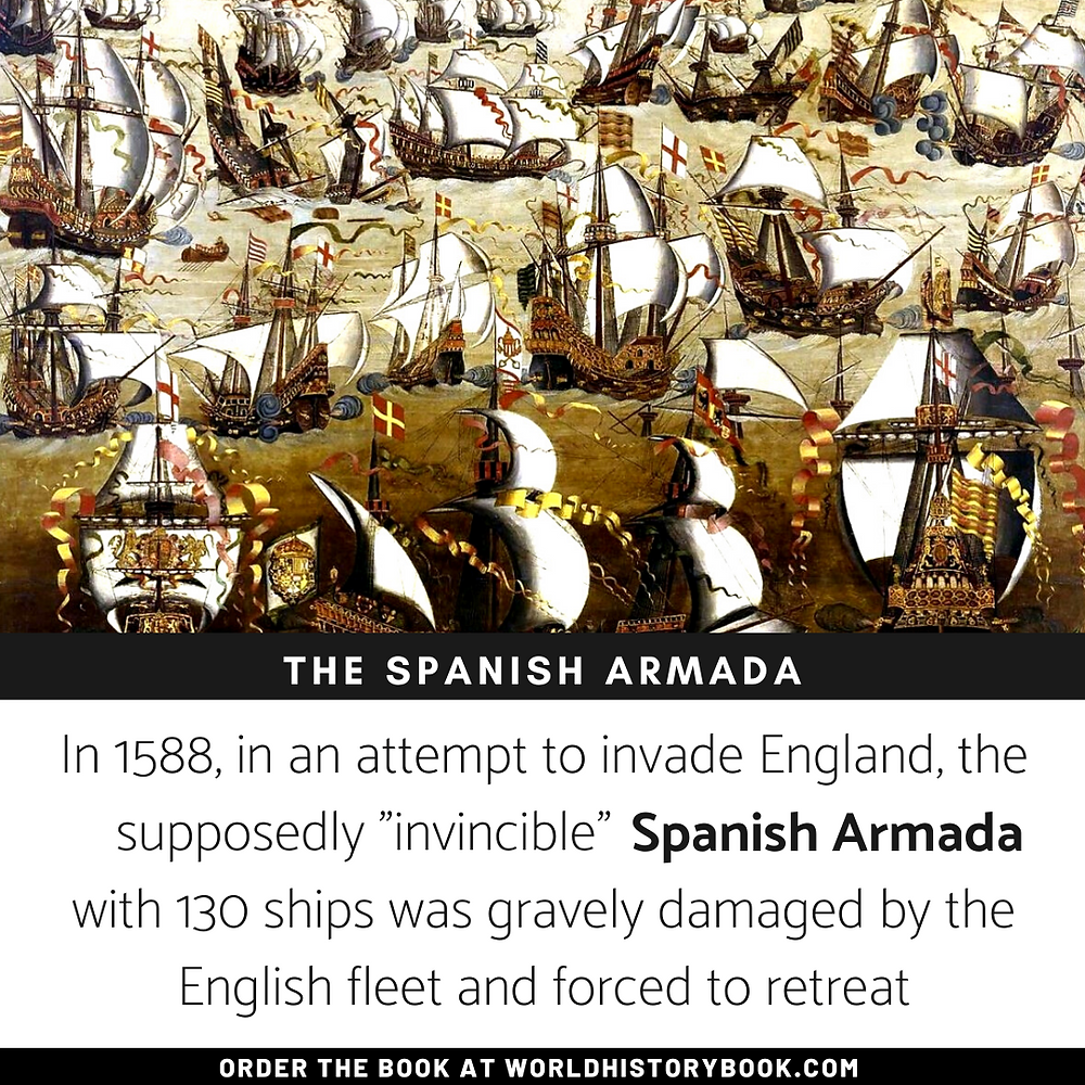 the great world history book stephan dinkgreve spanish armada invincible eighty years' war