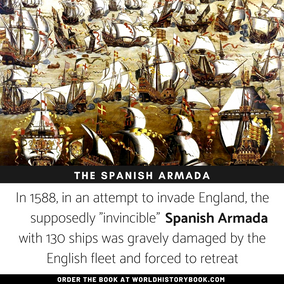 "The ""invincible"" spanish armada"