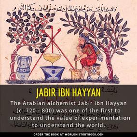 ALCHEMIST JABIR IBN HAYYAN