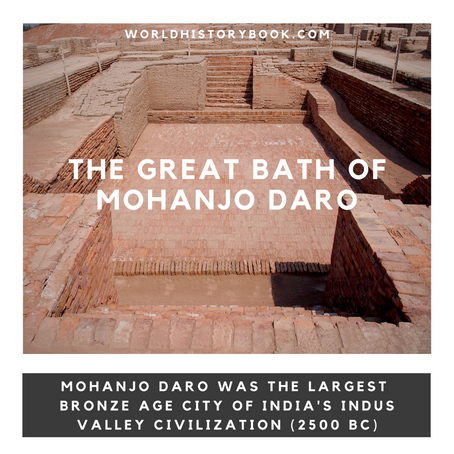 THE GREAT BATHS OF MOHANJO-DARO