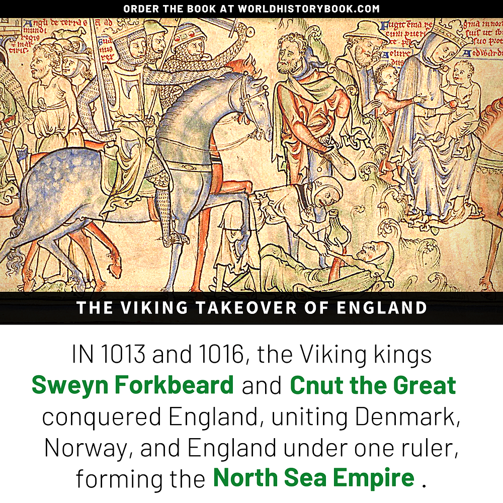 the great world history book stephan dinkgreve viking norse mythology sweyn forbeard cnut the great north sea empire