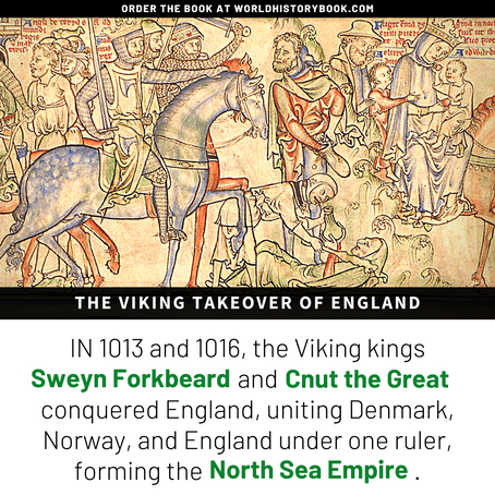 THE VIKING TAKEOVER OF ENGLAND