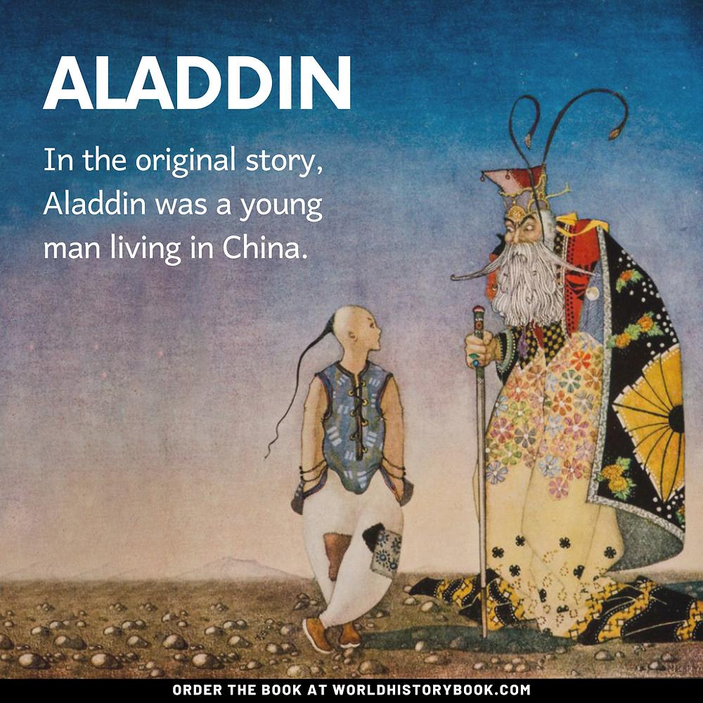 the great world history book stephan dinkgreve arabian nights one thousand and one nights aladdin original china