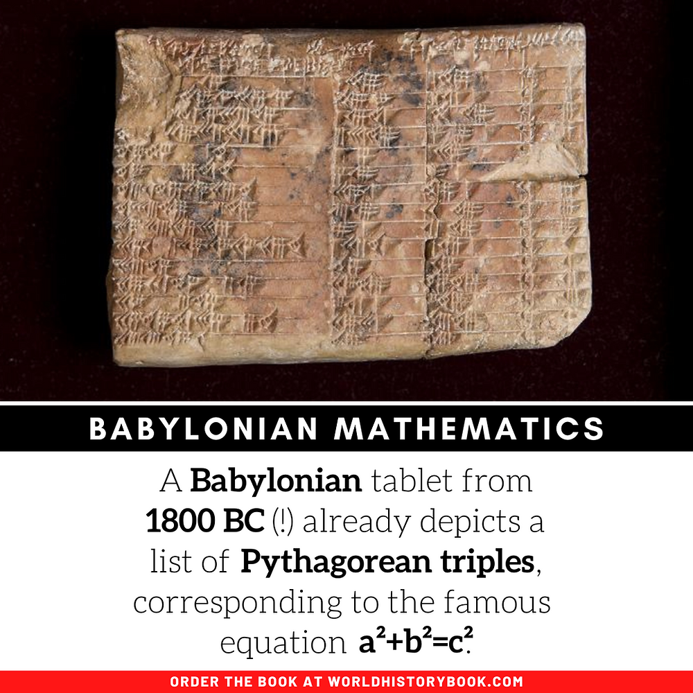 the great world history book stephan dinkgreve mathematics history math pythagoras babylonian sumerian