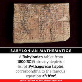 BABYLONIAN MATHETMATICS