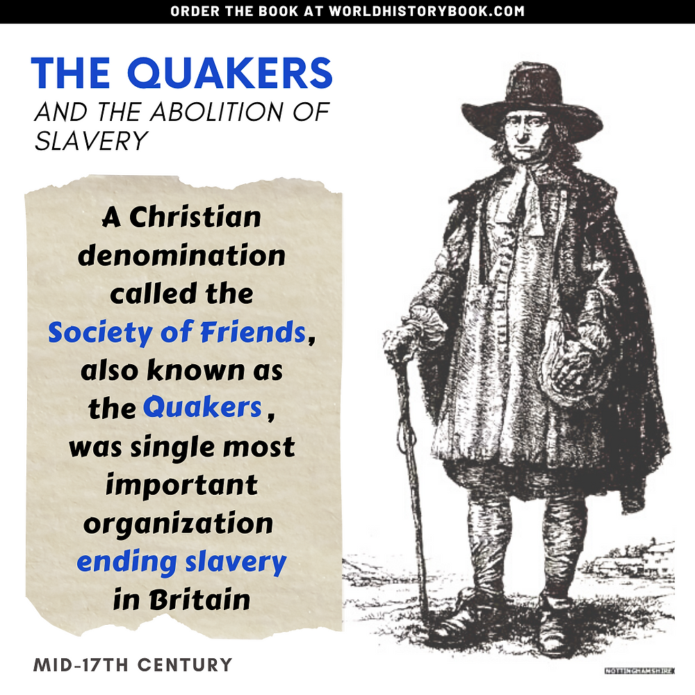 the great world history book stephan dinkgreve slavery slave trade abolition transatlantic quakers