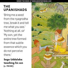 UDDALAKA TEACHING HIS SON