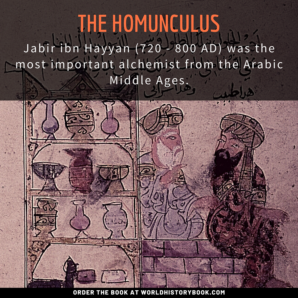 the great world history book stephan dinkgreve medieval middle ages alchemy philosophers stone homunculus jabir ibn hayyan full metal alchemist