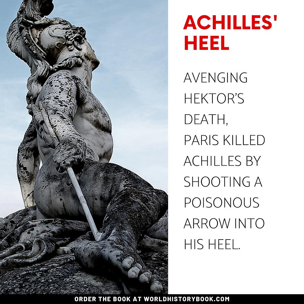 the great world history book stephan dinkgreve ancient greece homer iliad odyssey trojan war achilles' heel paris