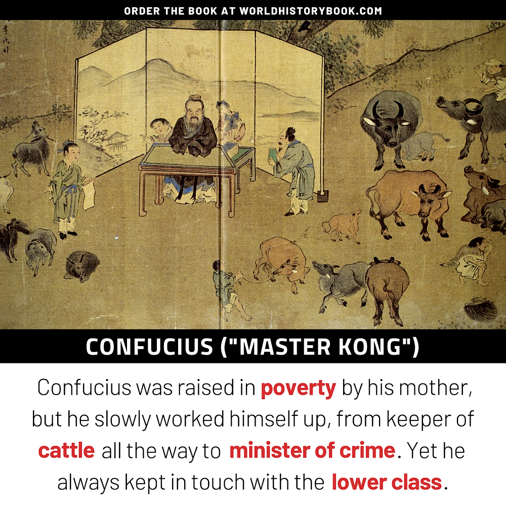 Confucius minister of crime keeper of cattle