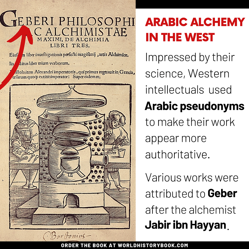 the great world history book stephan dinkgreve abbasid caliphate islamic golden age baghdad moorish spain reconquista middle ages geber alchemy pseudonym