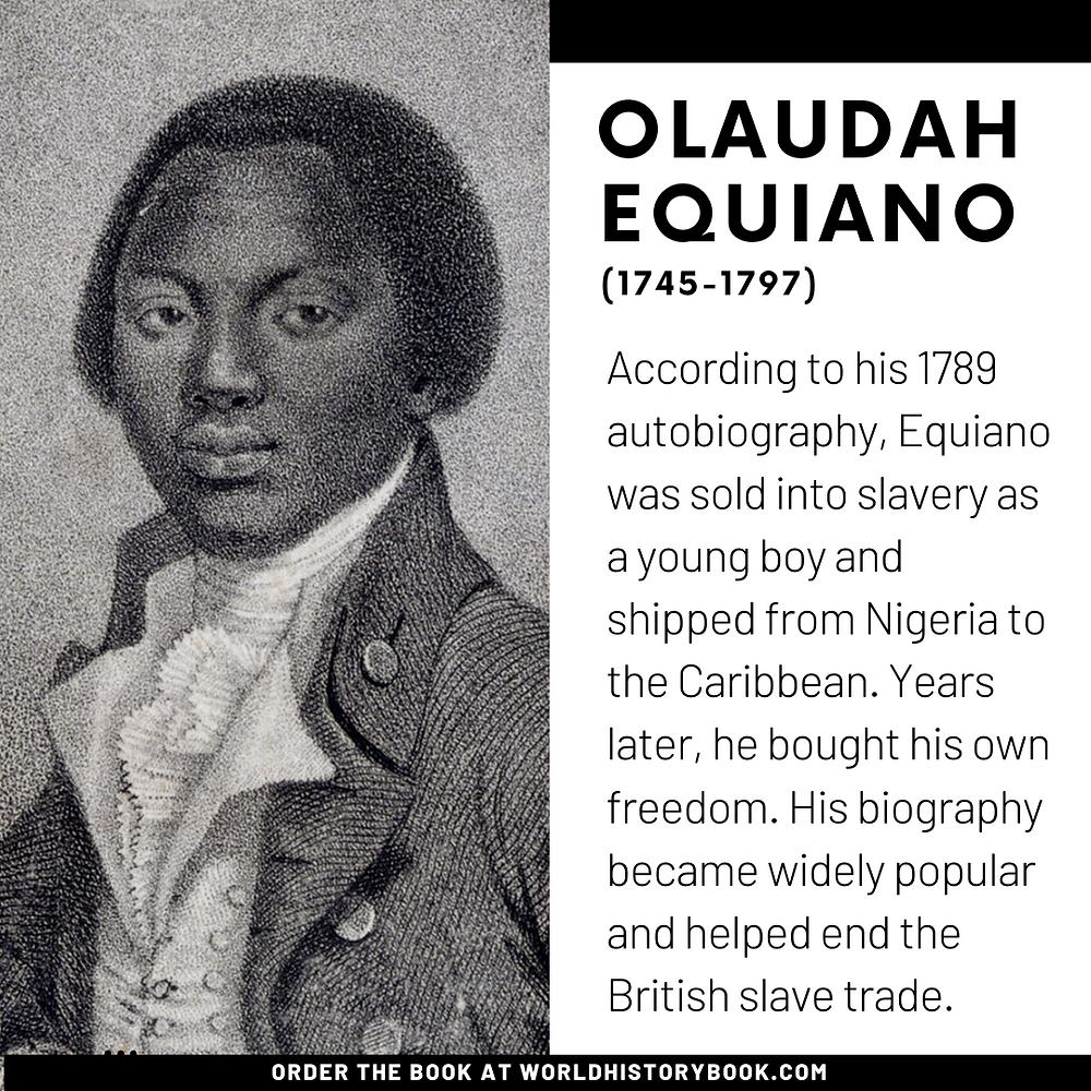 the great world history book stephan dinkgreve slavery slave trade abolition transatlantic afrika olaudah equiano