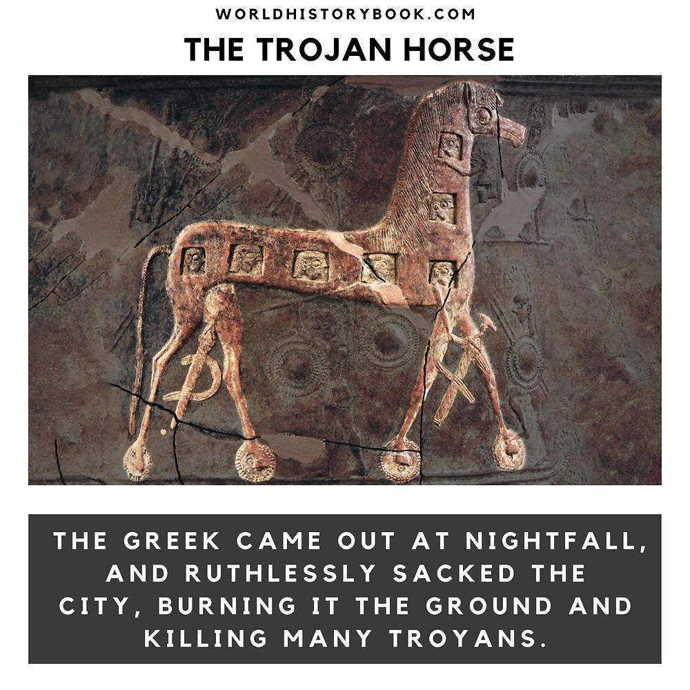 the great world history book stephan dinkgreve ancient greece homer iliad odyssey trojan horse