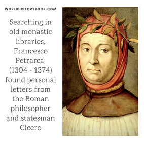 PETRARCH FINDS CICERO'S LETTERS
