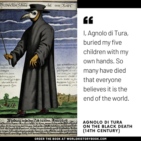 FIRST HAND ACCOUNT OF THE BLACK DEATH