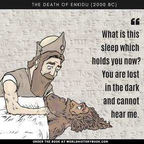 ENKIDU'S DEATH