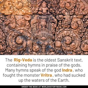 INDRA SLAYING THE VRITRA