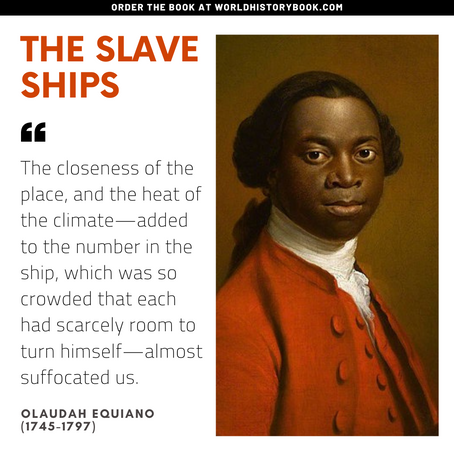 On The slave ships