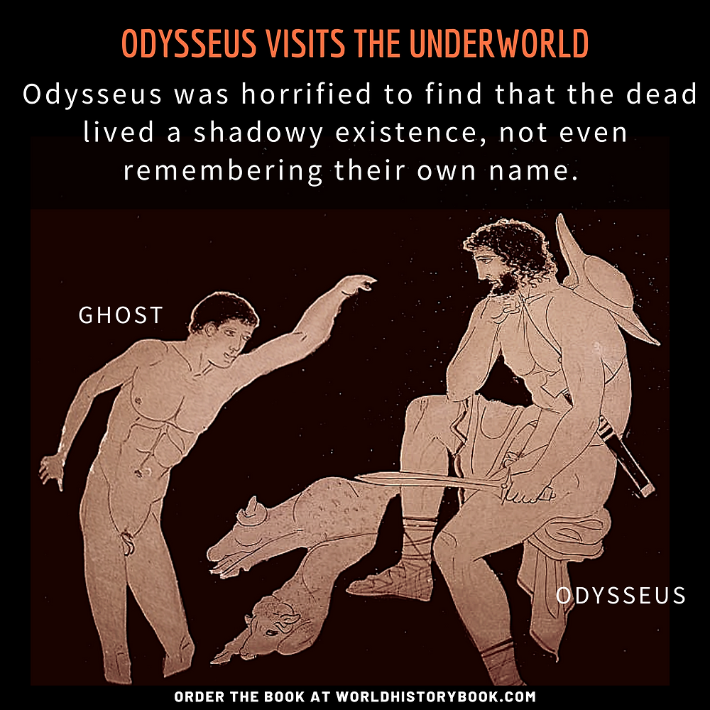 the great world history book stephan dinkgreve ancient greece homer iliad odyssey achilles underworld ghost