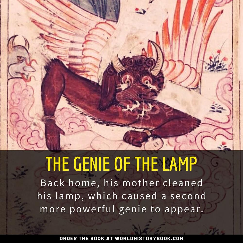 the great world history book stephan dinkgreve arabian nights one thousand and one nights aladdin genie djinn islam magic lamp