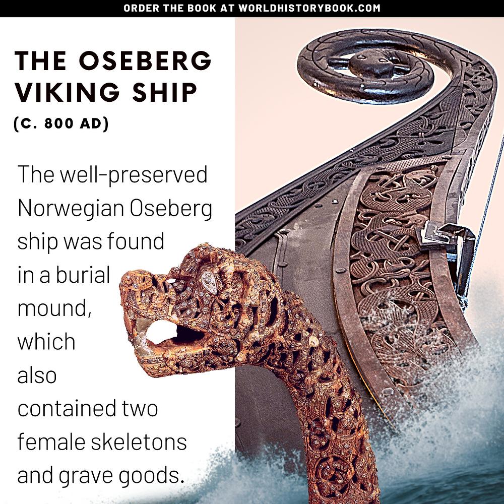 the great world history book stephan dinkgreve viking norse mythology dragon ship oseberg