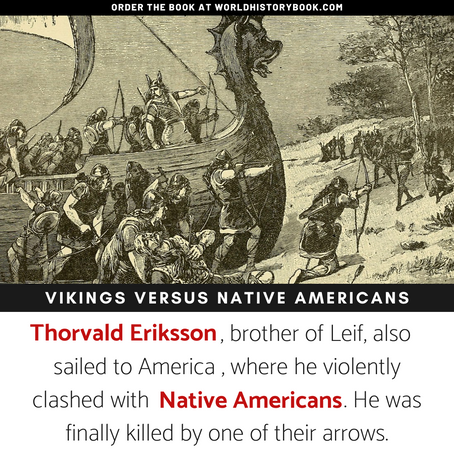 THE VIKINGS VERSUS THE NATIVE AMERICANS