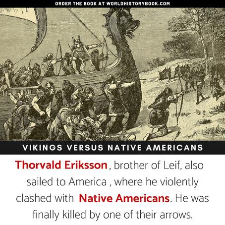 THE VIKINGS VERSUS THE NATIVE AMERICANS