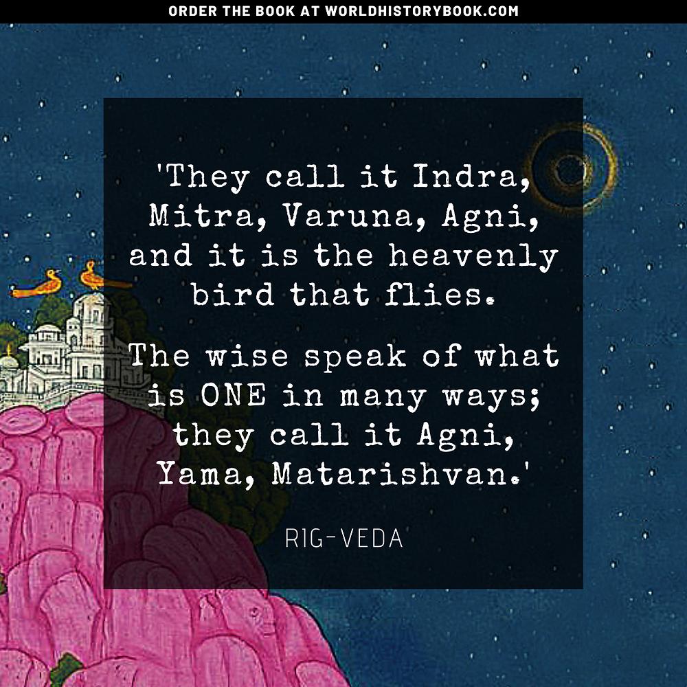 the great world history book stephan dinkgreve india indus valley vedas upanishads atman brahman yoga meditation