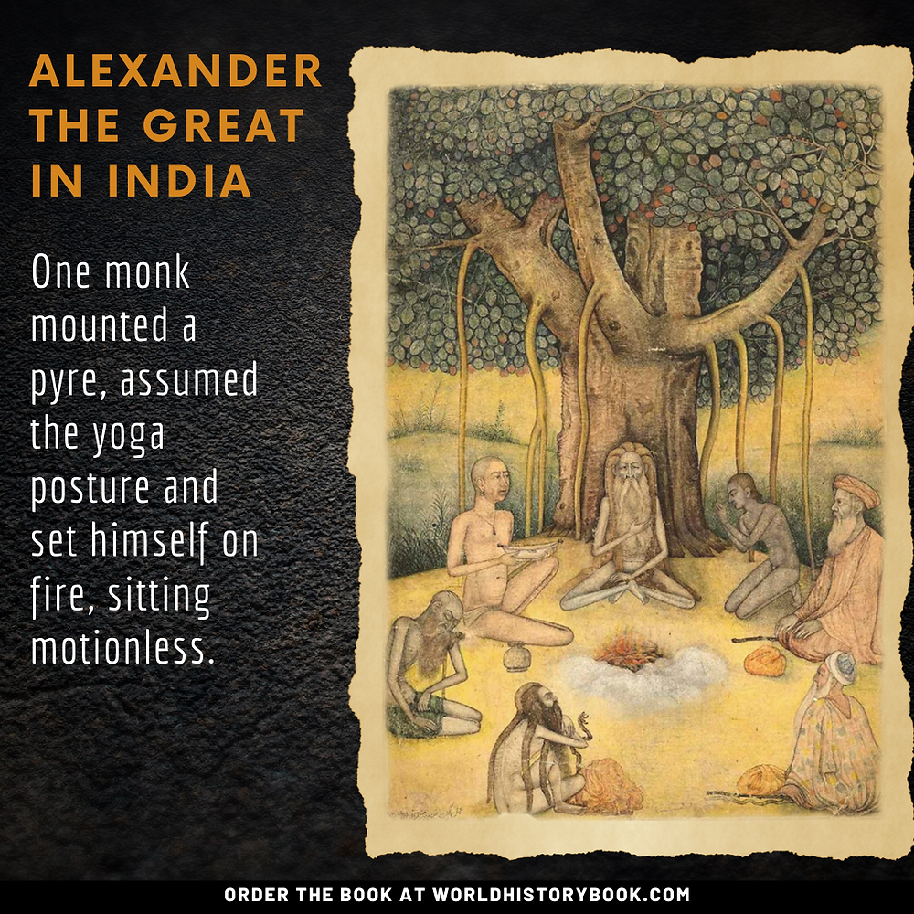 india indus valley vedas upanishads alexander the great in india