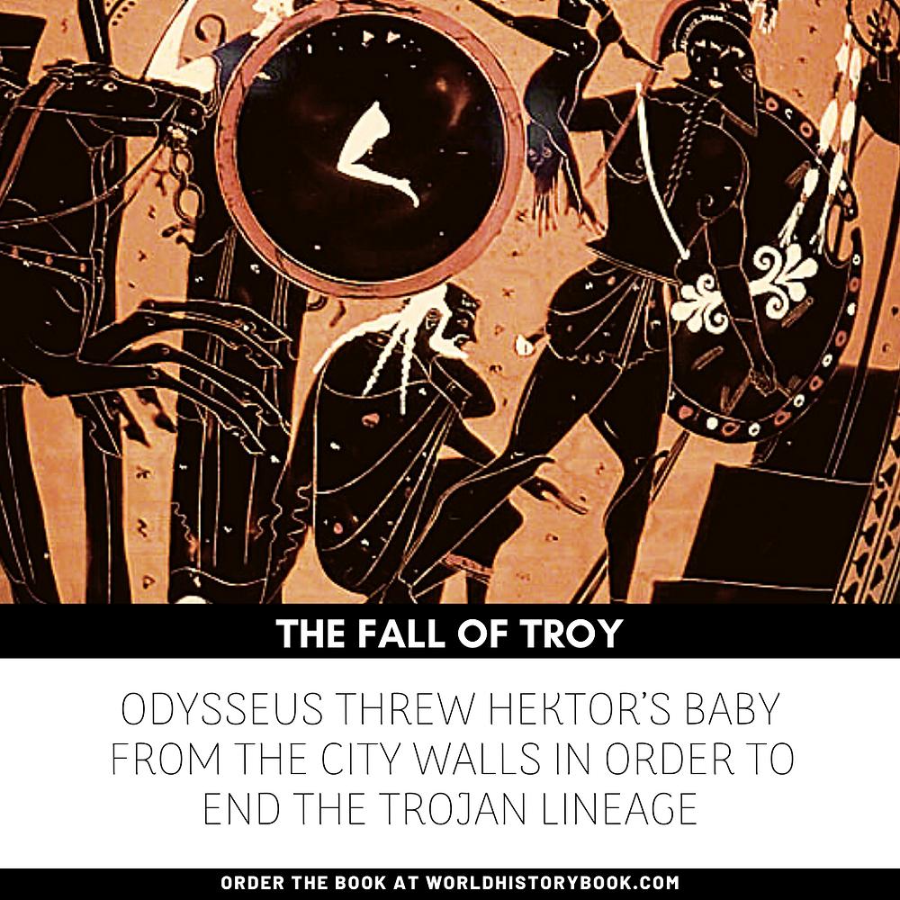 the great world history book stephan dinkgreve ancient greece homer iliad odyssey trojan war fall of troy war crimes