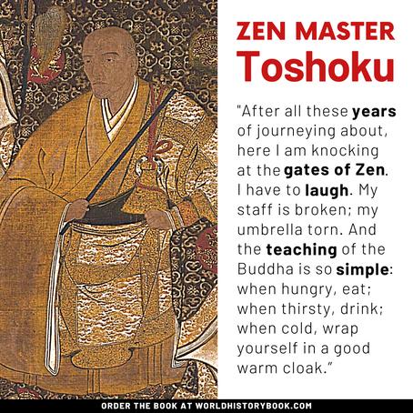 ZEN MASTER TOSHOKU