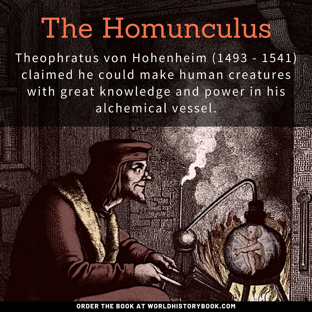 the great world history book stephan dinkgreve medieval middle ages alchemy philosophers stone paracelsus homunculus full metal alchemist