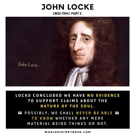 John Locke On the nature of the soul