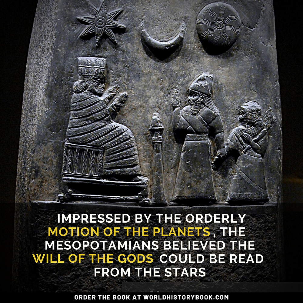 the great world history book stephan dinkgreve mesopotamia sumeria babylon astronomy planets venus moon sun