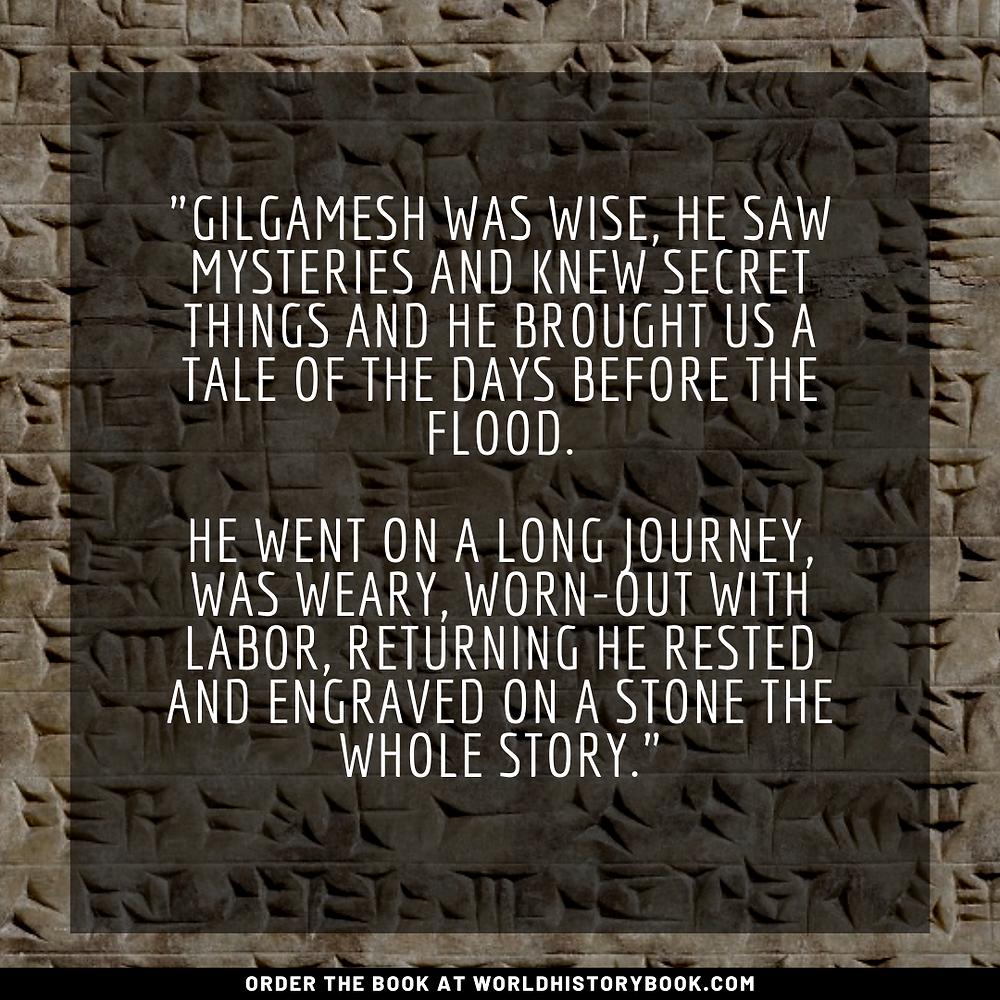 the great world history book stephan dinkgreve mesopotamia sumeria babylon gilgamesh enkidu uruk