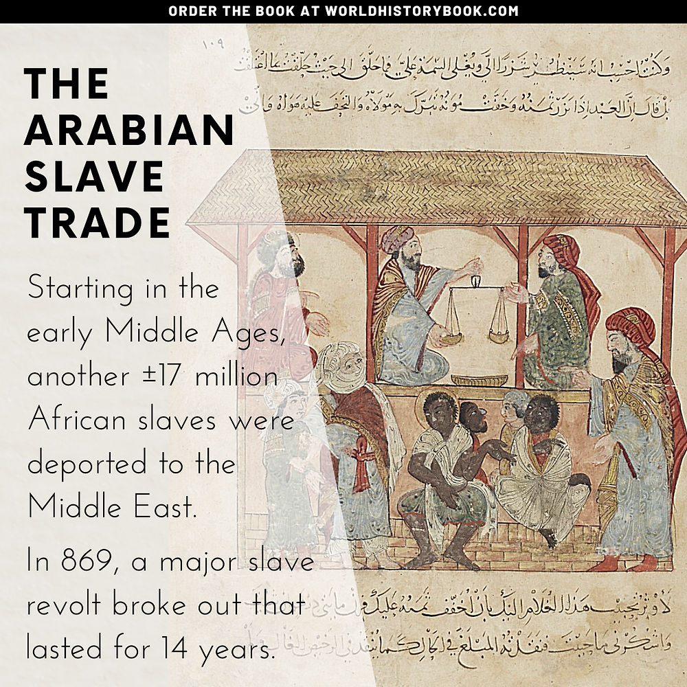 the great world history book stephan dinkgreve slavery slave trade arabian afrika history