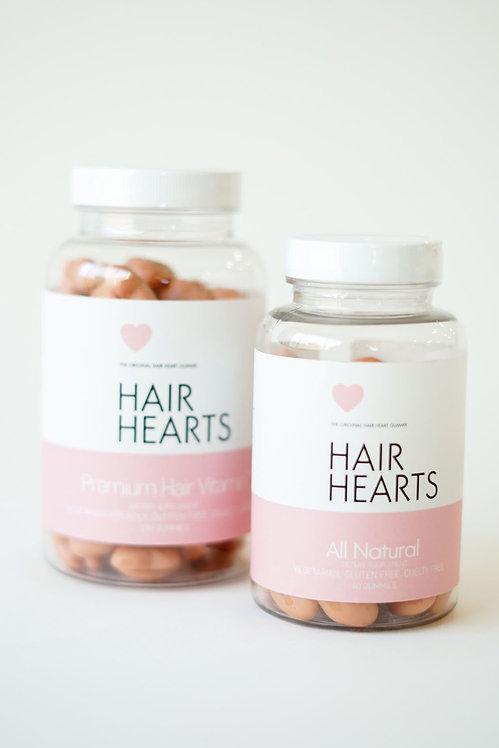 Compléments alimentaires Hair Hearts (3 mois)