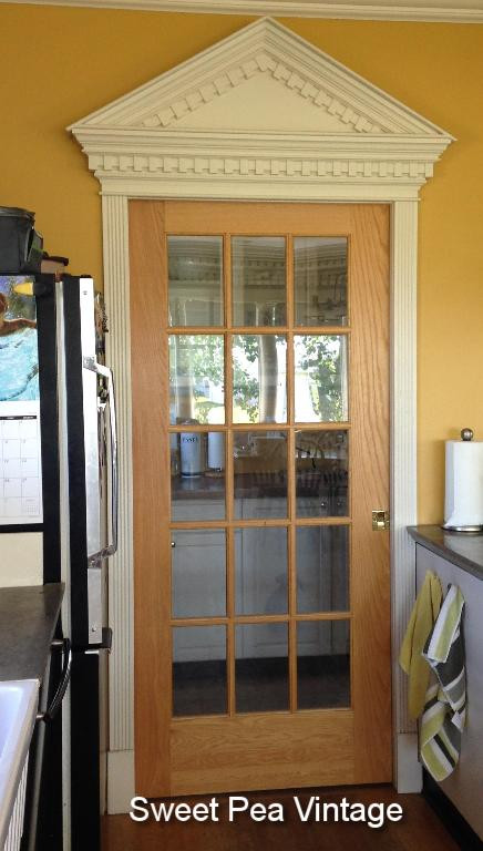 pocket doors - I didn't really understand the aspect of this until we moved into a house that had them. Space saving and really beautiful, I think these are a must in each house. I have one on my butlers pantry (prep room) and one on my en suite bathroom. Check mine out: