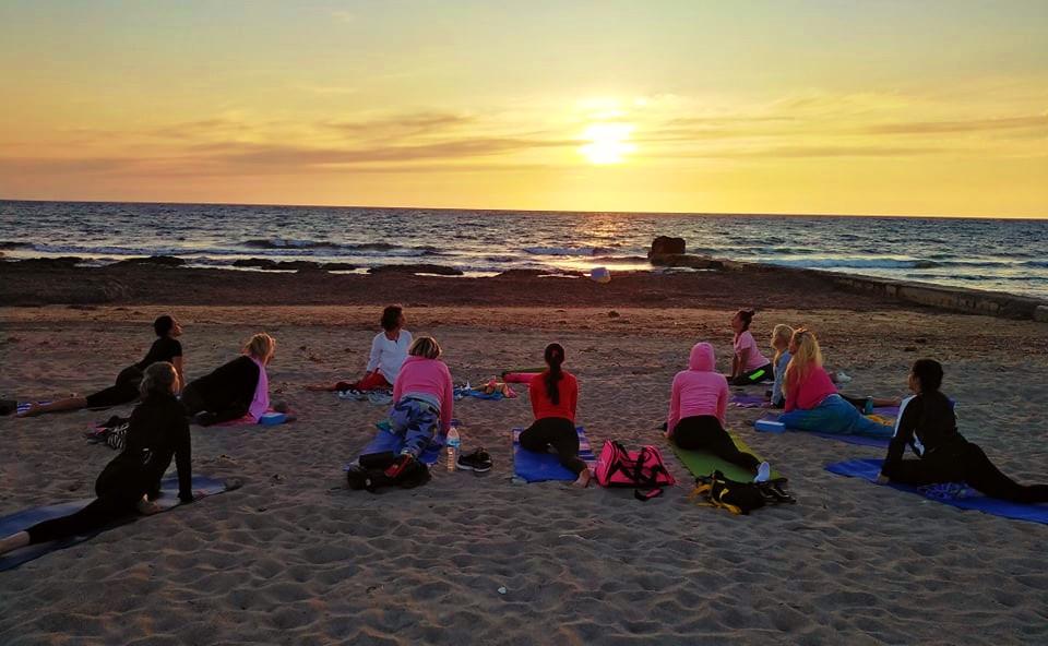 Sunset Beach Yoga 2021