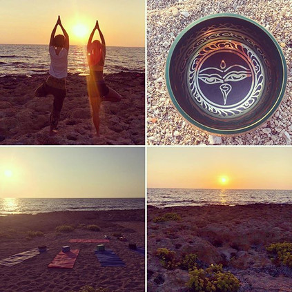 Sunday Sunset Yoga🙏_There are no words.