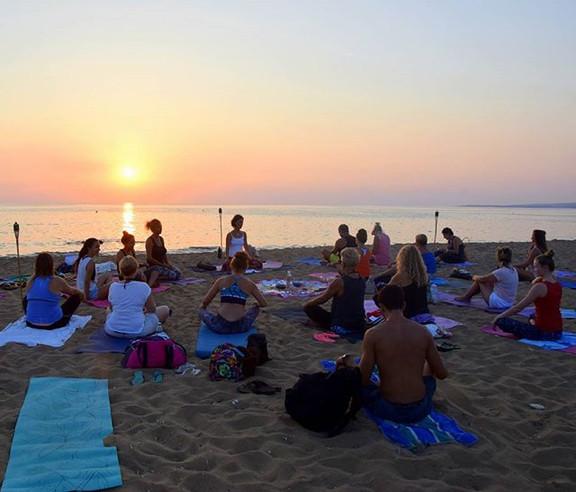 Sunset Yoga♡