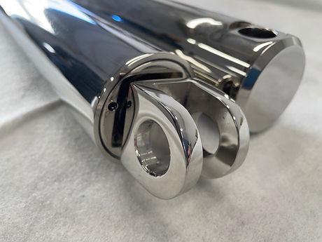 polished hydraulic cylinder